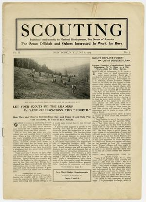 Primary view of object titled 'Scouting, Volume 2, Number 3, June 1, 1914'.