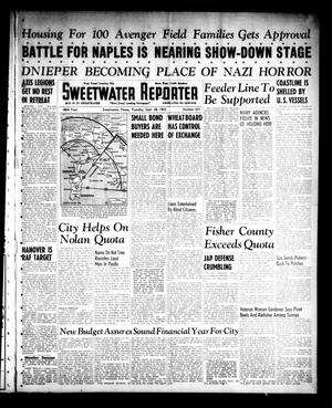 Primary view of object titled 'Sweetwater Reporter (Sweetwater, Tex.), Vol. 46, No. 231, Ed. 1 Tuesday, September 28, 1943'.