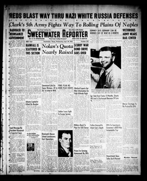 Primary view of object titled 'Sweetwater Reporter (Sweetwater, Tex.), Vol. 46, No. 232, Ed. 1 Wednesday, September 29, 1943'.
