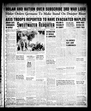 Primary view of object titled 'Sweetwater Reporter (Sweetwater, Tex.), Vol. 46, No. 233, Ed. 1 Thursday, September 30, 1943'.