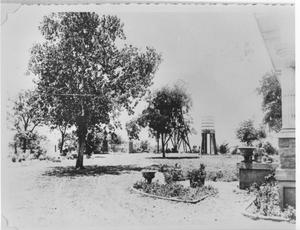 Primary view of object titled 'Front Yard of Anthelm Bideault's Farm'.