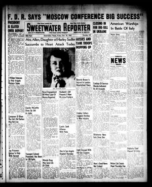 Primary view of object titled 'Sweetwater Reporter (Sweetwater, Tex.), Vol. 46, No. 257, Ed. 1 Friday, October 29, 1943'.