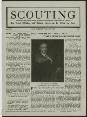 Scouting, Volume 3, Number 1, May 1, 1915