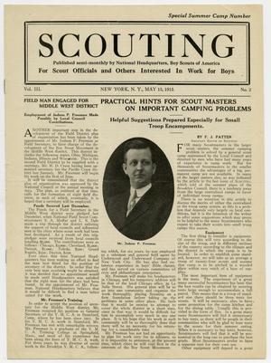 Scouting, Volume 3, Number 2, May 15, 1915
