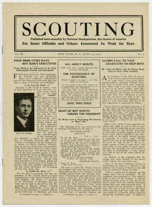 Scouting, Volume 3, Number 4, June 15, 1915