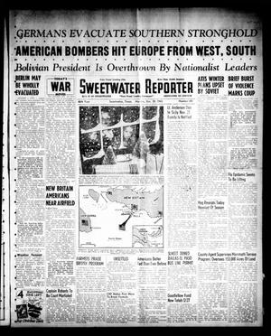 Sweetwater Reporter (Sweetwater, Tex.), Vol. 46, No. 301, Ed. 1 Monday, December 20, 1943