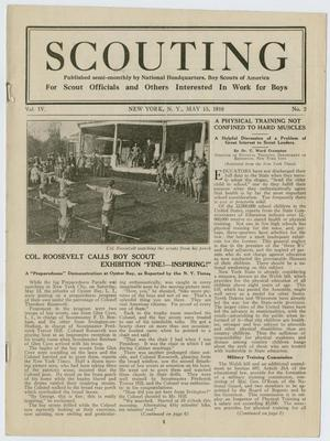 Scouting, Volume 4, Number 2, May 15, 1916