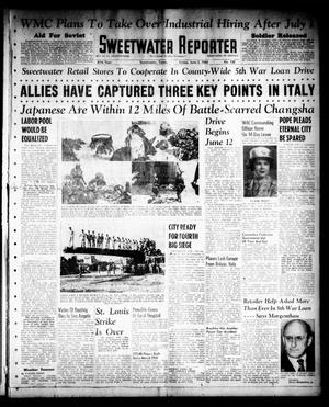 Primary view of object titled 'Sweetwater Reporter (Sweetwater, Tex.), Vol. 47, No. 130, Ed. 1 Friday, June 2, 1944'.