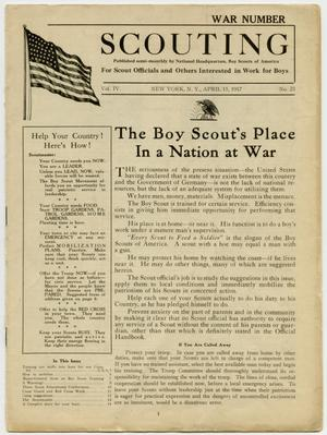 Scouting, Volume 4, Number 23, March 15, 1917