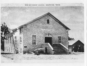 Primary view of object titled 'New Methodist Church'.