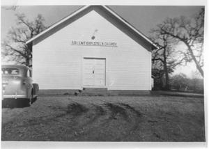 Primary view of object titled '[Advent Christian Church in Hurst, Texas]'.