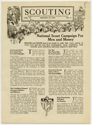 Scouting, Volume 6, Number 2, January 15, 1918