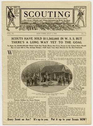 Scouting, Volume 6, Number 13, July 1, 1918