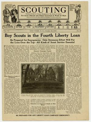 Scouting, Volume 6, Number 22, October 10, 1918