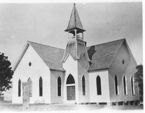 Primary view of object titled 'First Methodist Church of Grapevine'.