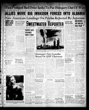 Sweetwater Reporter (Sweetwater, Tex.), Vol. 47, No. 222, Ed. 1 Wednesday, September 27, 1944