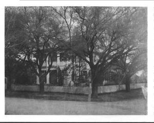 Primary view of object titled '[Carroll House in Missouri City]'.