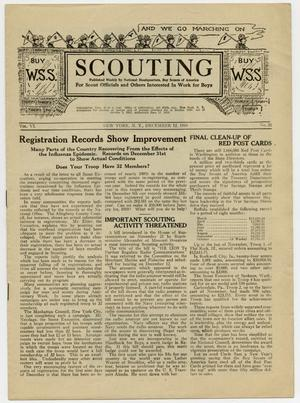 Scouting, Volume 6, Number 31, December 12, 1918