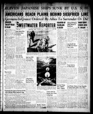 Primary view of object titled 'Sweetwater Reporter (Sweetwater, Tex.), Vol. 47, No. 229, Ed. 1 Thursday, October 5, 1944'.
