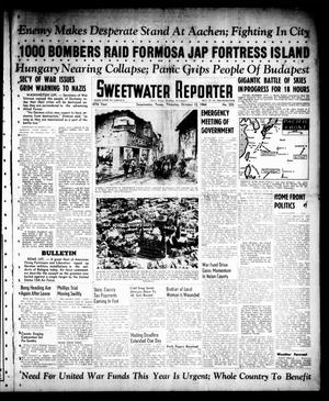 Primary view of object titled 'Sweetwater Reporter (Sweetwater, Tex.), Vol. 47, No. 235, Ed. 1 Thursday, October 12, 1944'.
