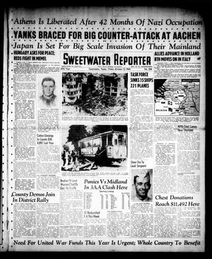 Primary view of object titled 'Sweetwater Reporter (Sweetwater, Tex.), Vol. 47, No. 236, Ed. 1 Friday, October 13, 1944'.