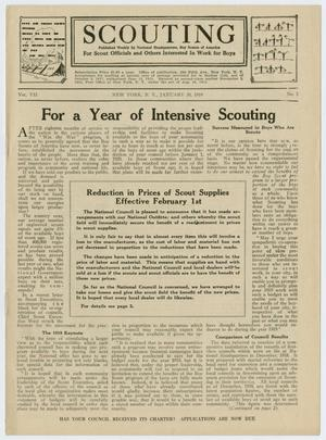Scouting, Volume 7, Number 5, January 30, 1919