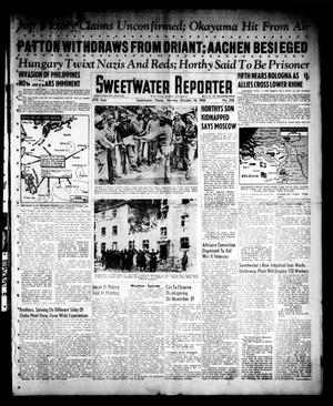 Primary view of object titled 'Sweetwater Reporter (Sweetwater, Tex.), Vol. 47, No. 238, Ed. 1 Monday, October 16, 1944'.