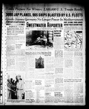 Primary view of object titled 'Sweetwater Reporter (Sweetwater, Tex.), Vol. 47, No. 240, Ed. 1 Wednesday, October 18, 1944'.