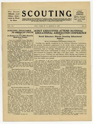 Primary view of object titled 'Scouting, Volume 7, Number 10, March 6, 1919'.