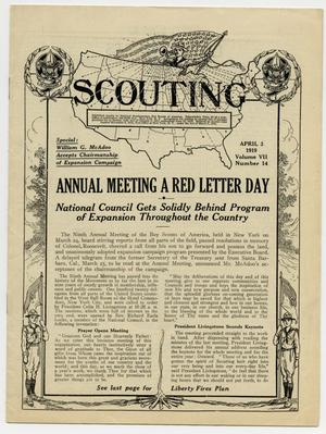 Scouting, Volume 7, Number 14, April 3, 1919