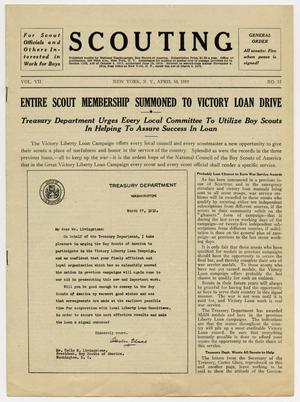 Scouting, Volume 7, Number 15, April 10, 1919