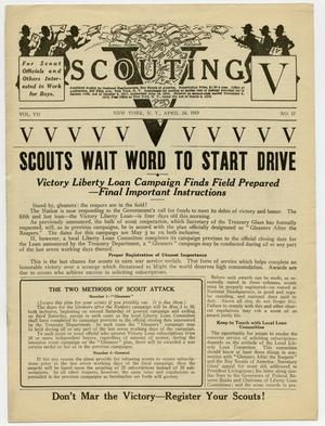 Scouting, Volume 7, Number 17, April 24, 1919