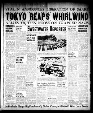 Primary view of object titled 'Sweetwater Reporter (Sweetwater, Tex.), Vol. 47, No. 272, Ed. 1 Friday, November 24, 1944'.