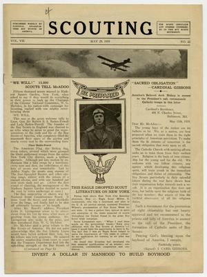Scouting, Volume 7, Number 22, May 29, 1919