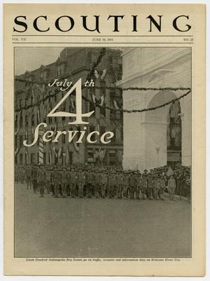 Scouting, Volume 7, Number 25, June 19, 1919