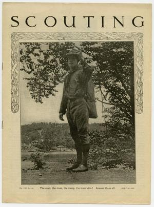 Scouting, Volume 7, Number 28, July 10, 1919