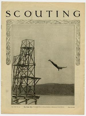 Primary view of object titled 'Scouting, Volume 7, Number 30, July 24, 1919'.