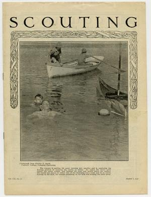 Primary view of object titled 'Scouting, Volume 7, Number 32, August 7, 1919'.