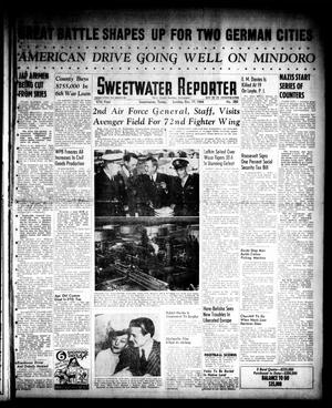 Primary view of object titled 'Sweetwater Reporter (Sweetwater, Tex.), Vol. 47, No. 280, Ed. 1 Sunday, December 17, 1944'.