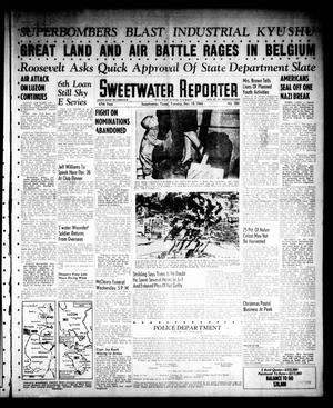 Sweetwater Reporter (Sweetwater, Tex.), Vol. 47, No. 282, Ed. 1 Tuesday, December 19, 1944
