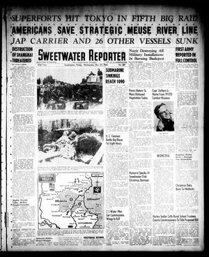 Primary view of object titled 'Sweetwater Reporter (Sweetwater, Tex.), Vol. 47, No. 287, Ed. 1 Wednesday, December 27, 1944'.