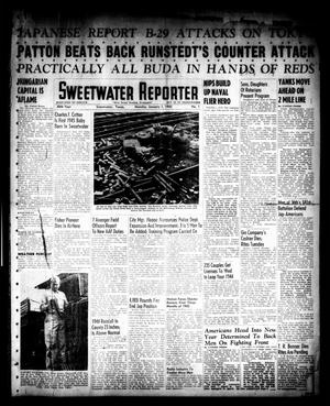Primary view of object titled 'Sweetwater Reporter (Sweetwater, Tex.), Vol. 48, No. 1, Ed. 1 Monday, January 1, 1945'.