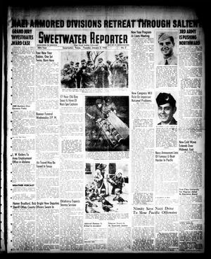 Primary view of object titled 'Sweetwater Reporter (Sweetwater, Tex.), Vol. 48, No. 2, Ed. 1 Tuesday, January 2, 1945'.