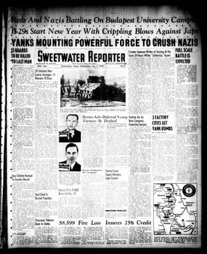 Primary view of object titled 'Sweetwater Reporter (Sweetwater, Tex.), Vol. 48, No. 3, Ed. 1 Wednesday, January 3, 1945'.