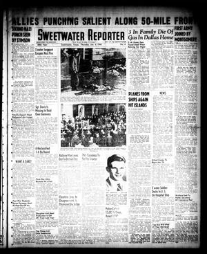 Primary view of object titled 'Sweetwater Reporter (Sweetwater, Tex.), Vol. 48, No. 4, Ed. 1 Thursday, January 4, 1945'.