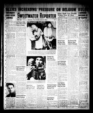 Primary view of object titled 'Sweetwater Reporter (Sweetwater, Tex.), Vol. 48, No. 7, Ed. 1 Monday, January 8, 1945'.