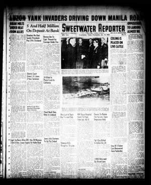 Primary view of object titled 'Sweetwater Reporter (Sweetwater, Tex.), Vol. 48, No. 9, Ed. 1 Wednesday, January 10, 1945'.