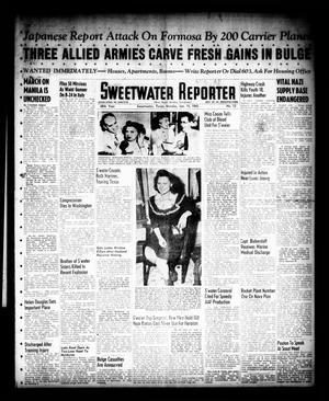Primary view of object titled 'Sweetwater Reporter (Sweetwater, Tex.), Vol. 48, No. 13, Ed. 1 Monday, January 15, 1945'.