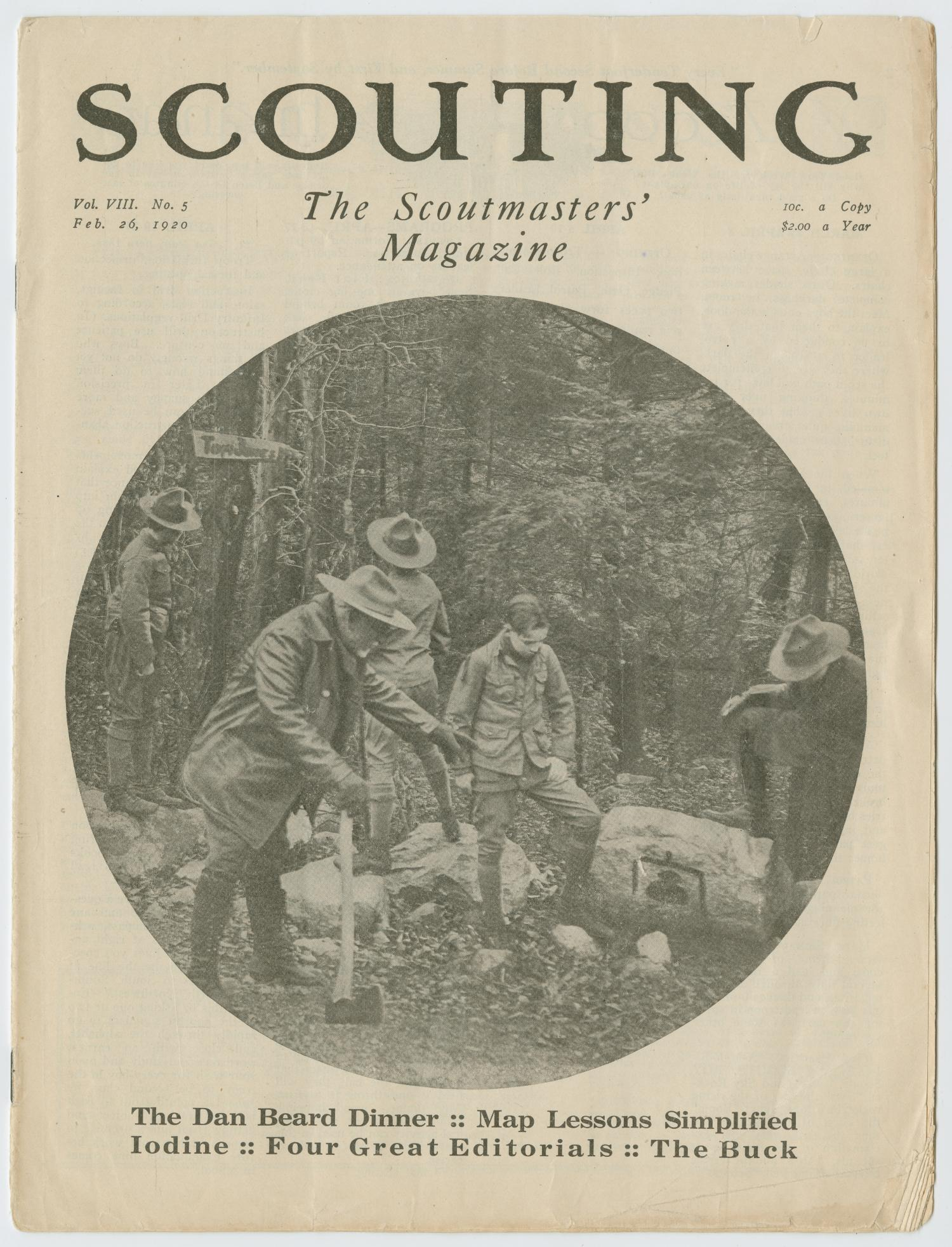 Scouting, Volume 8, Number 5, February 26, 1920                                                                                                      1