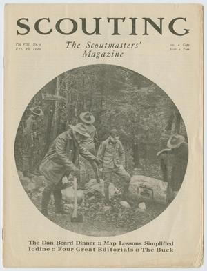 Scouting, Volume 8, Number 5, February 26, 1920